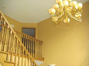 Latest My With Gold Wall Paint